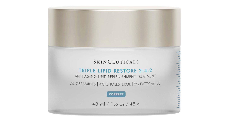 Skinceuticals Triple Lipid Restore 2:4:2 -voide sisältää lipidejä, keramideja, luonnollista kolesterolia ja välttämättömiä rasvahappoja, 50 ml 150 e.