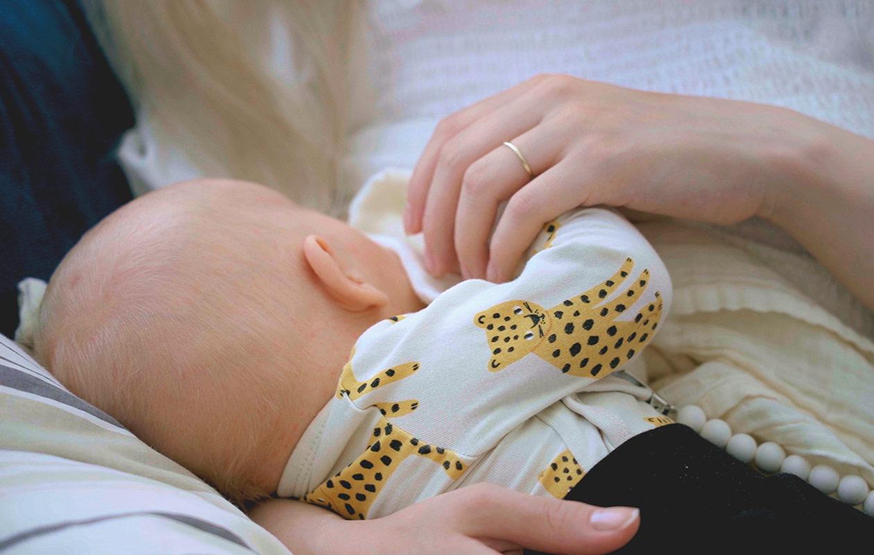 Miisa Nuorgamin vauva