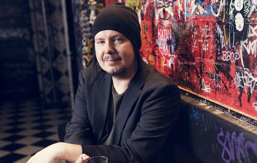 Happoradion laulaja Aki Tykki.