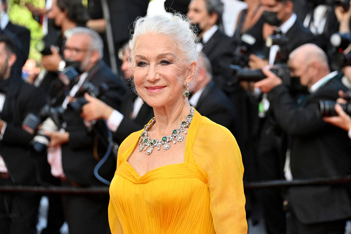 Helen Mirrenin boheemi nuttura hurmaa.