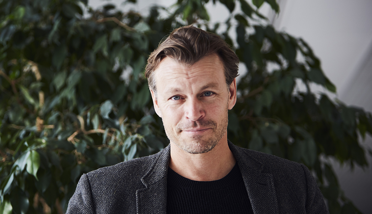 Peter Franzén asuu nykyisin maaseudulla Ranskassa.