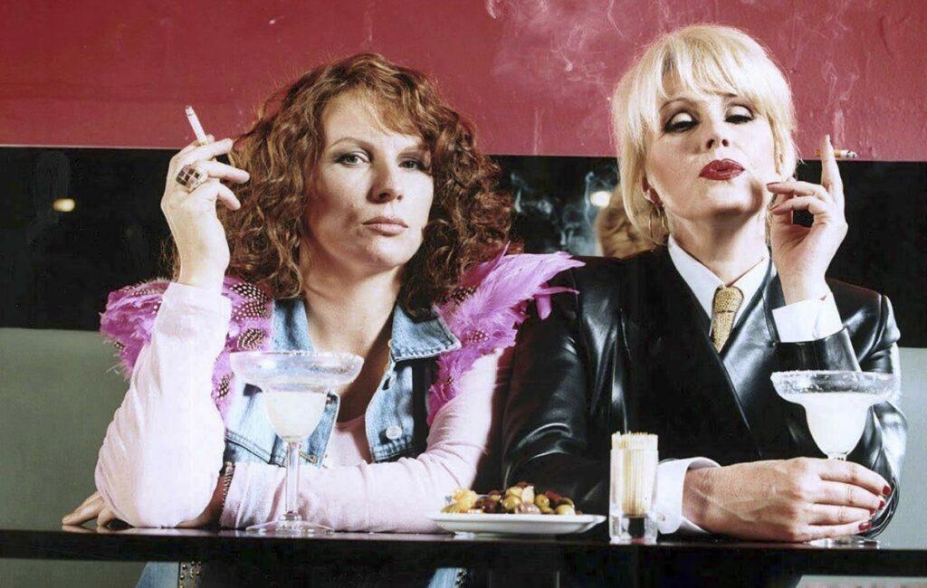 Todella upeeta -sarjan Edina ja Patsy.