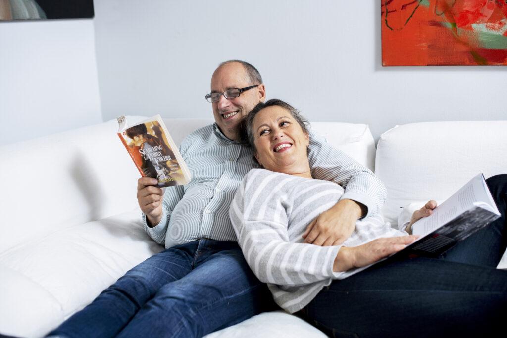 Marianna Stolbow ja Lauri Pietarinen päättivät nopeasti, että tähän suhteeseen on satsattava.