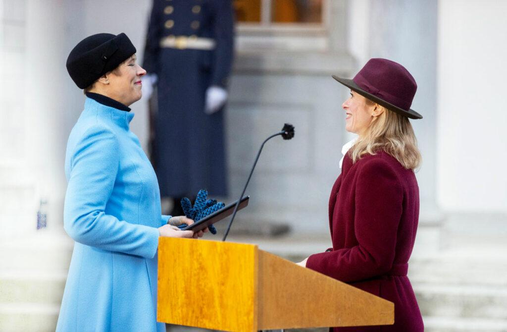 Kersti Kaljulaid (vas.) ja Kaja Kallas ovat olleet Viron nuorille tärkeitä esikuvia.