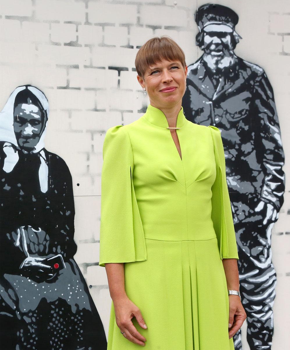 Kersti Kaljulaid on puolustanut Virossa sananvapautta ja seksuaalivähemmistöjä.