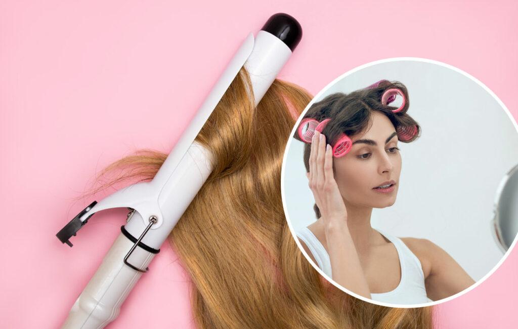 Papiljottikiharat eivät kuluta hiusta niin paljon kuin hiustenkiharrin.