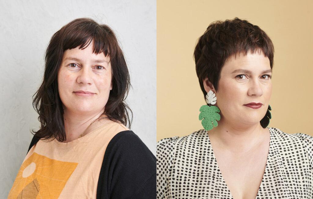 Annan Muuttuja Janna Engström ennen ja jälkeen -kuvissa.