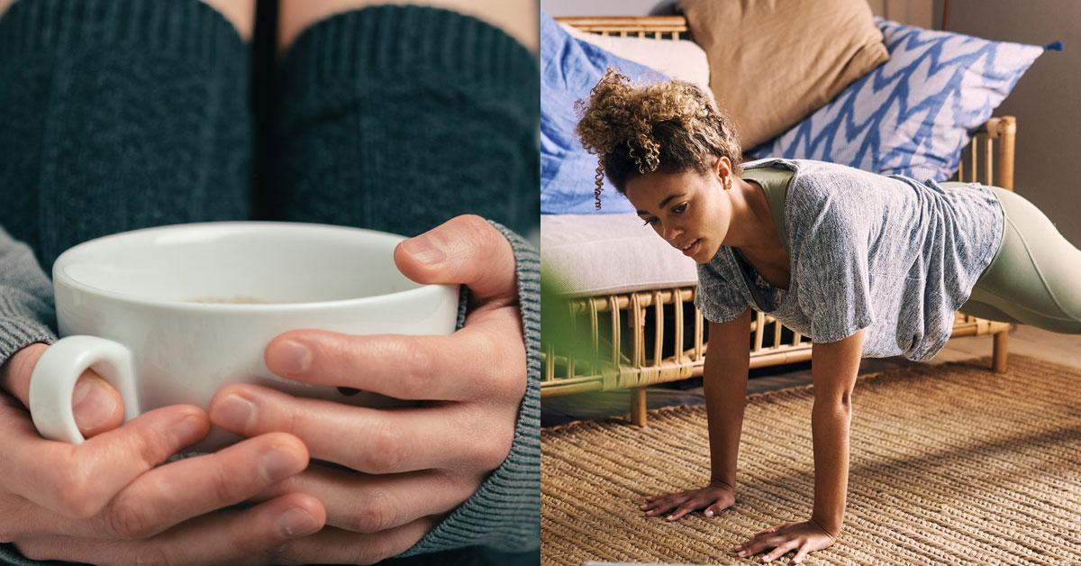 Yksi haluaa olla jo aamulla tehokkaimmillaan, toiselle tärkeintä on saada rauhallinen aloitus.