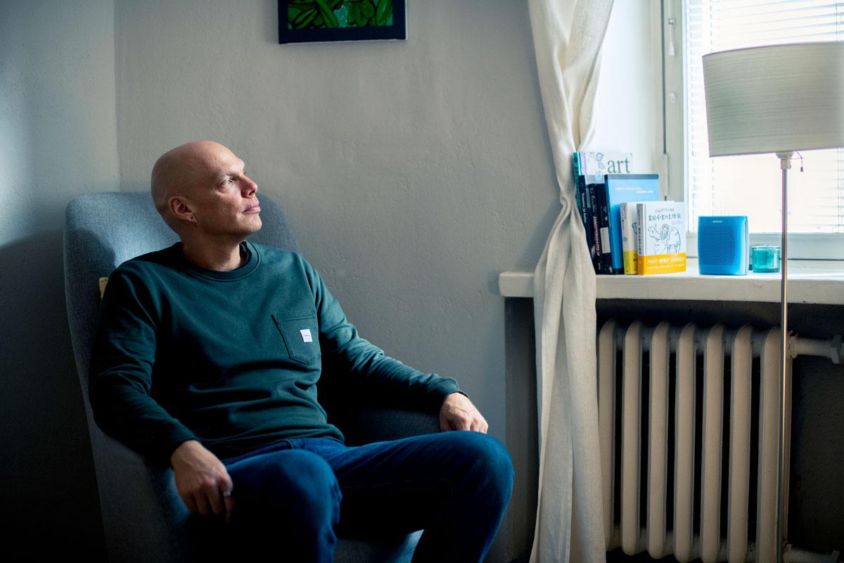 Antti Ervasti Annassa Cup of Therapy