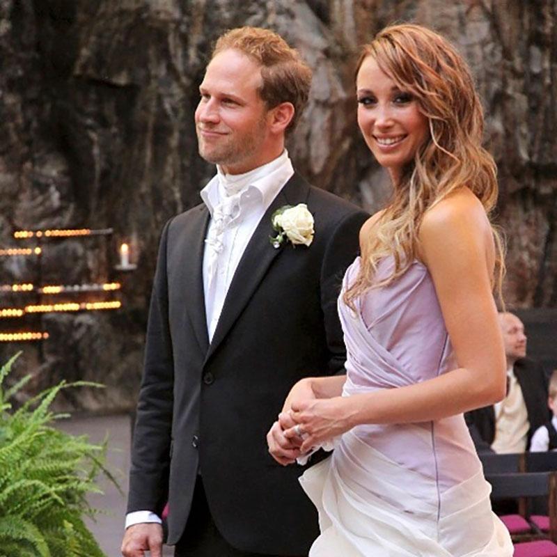 Niina ja Lorenz Backman avioituivat seurusteltuaan seitsemän vuotta.