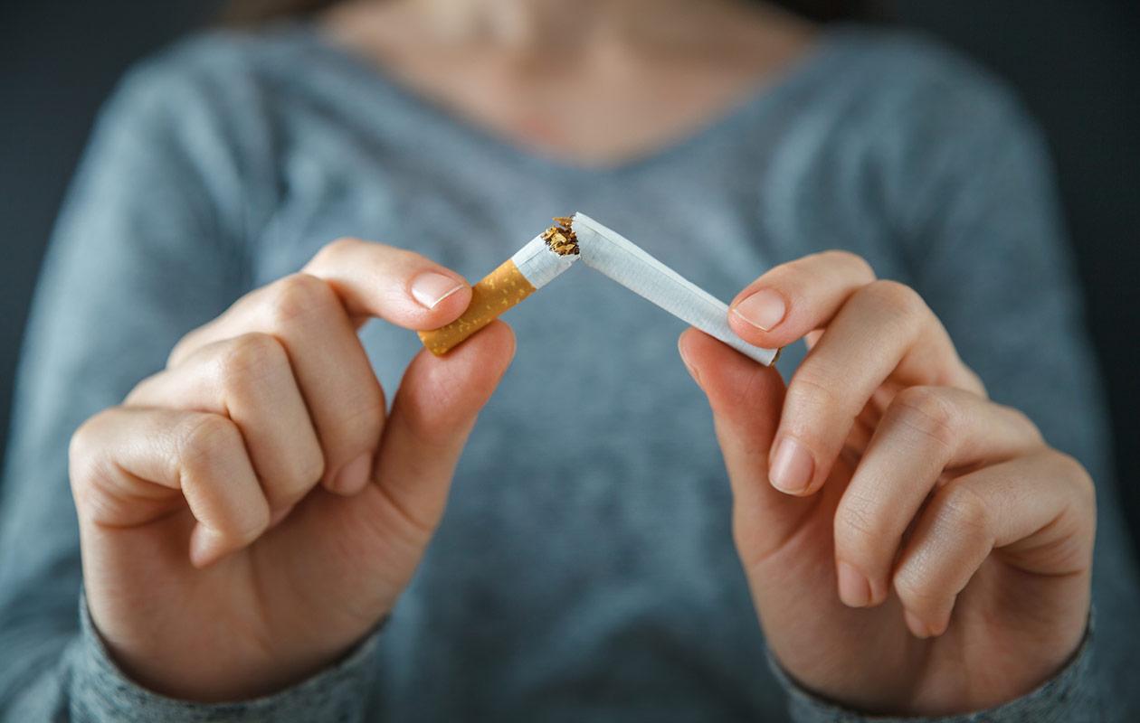 Tupakoinnin lopettaminen vaatii usein tahdinvoimaa. Elsa Vilen pääsi tupakasta eroon.