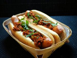 Bolognese Hot Dog