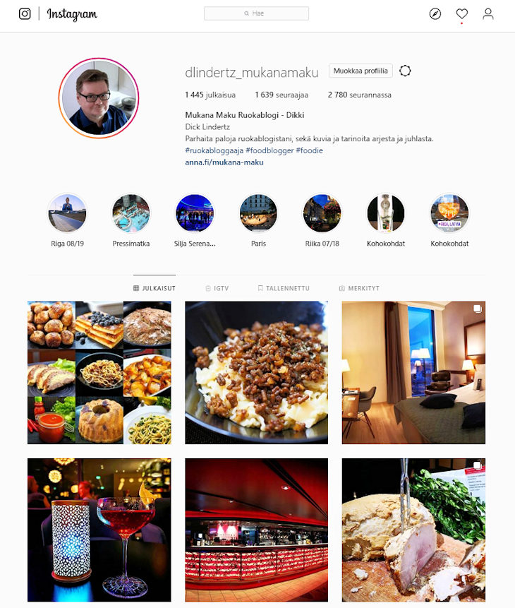 Mukana Maku Instagram