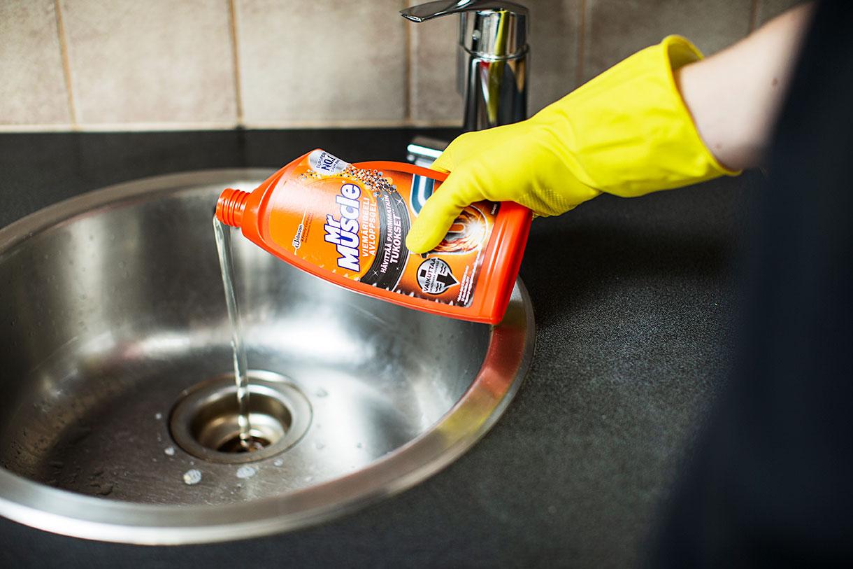 Kuvitus kuva - Tämän vuoksi viemärit kannattaa puhdistaa ennen joulua