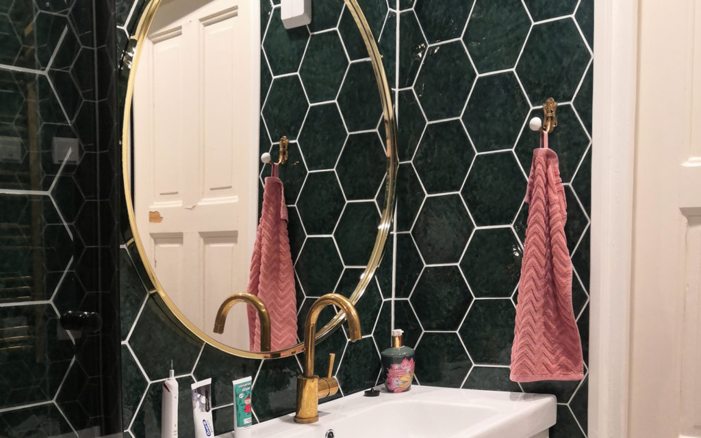 Kylpyhuoneen uusi ilme