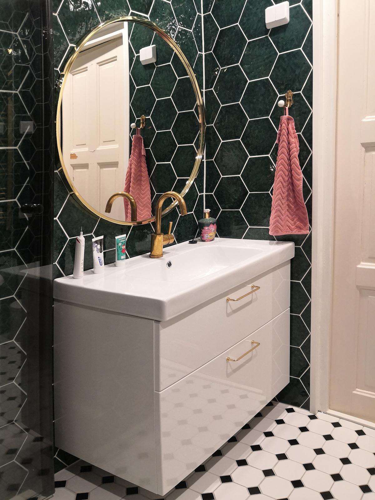 Uusi ilme kylpyhuoneeseen