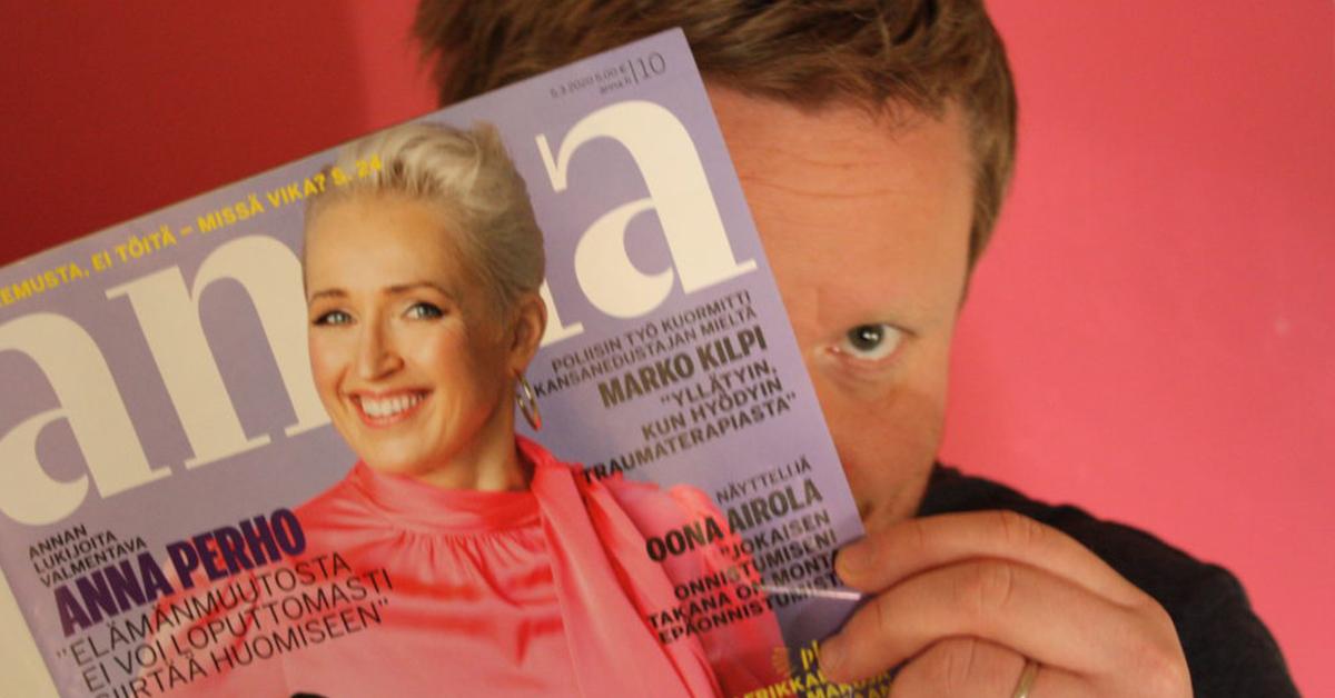 Sami Minkkinen ja rakas Anna