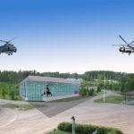 MI8-helikopteri siirretään Utin kentälle rakennettavaan vitriiniin, joka on pinta-alaltaan noin 636 neliötä. Hankkeen suojelijana on kansanedustaja Ilkka Kanerva.