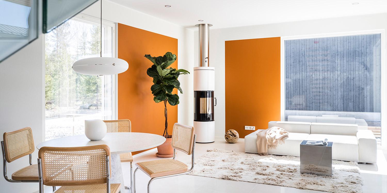 Kuvitus kuva - Uusia muotoja  ja muokattavuutta – Asuntomessujen 5 näkyvintä trendiä