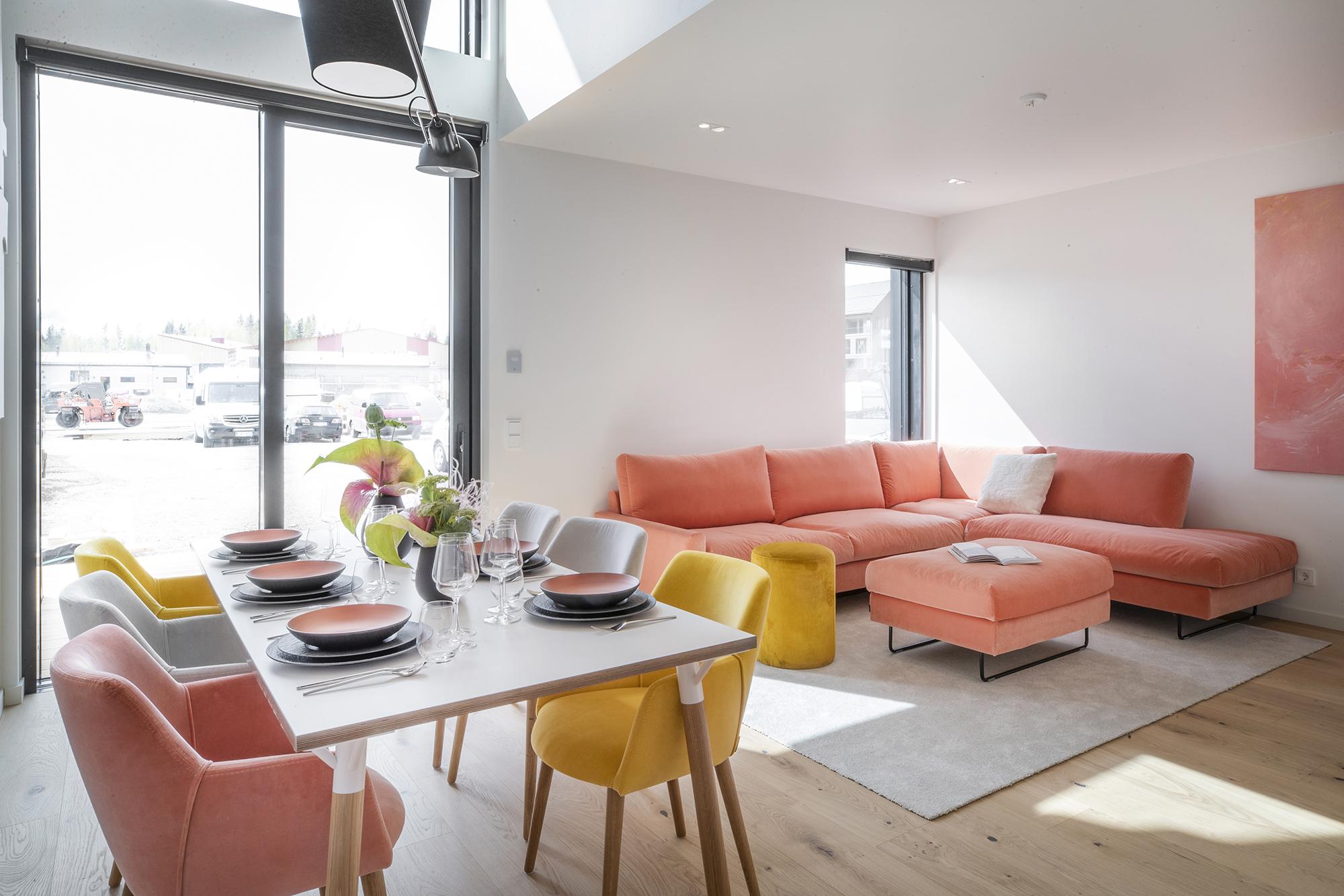 Kuvitus kuva - Virtuaaliset Asuntomessut on avattu – katso upeat kohteet ja sisustuksen uusimmat trendit