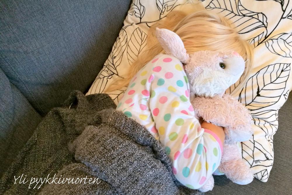 kuume, flunssa, lapsi kipeä