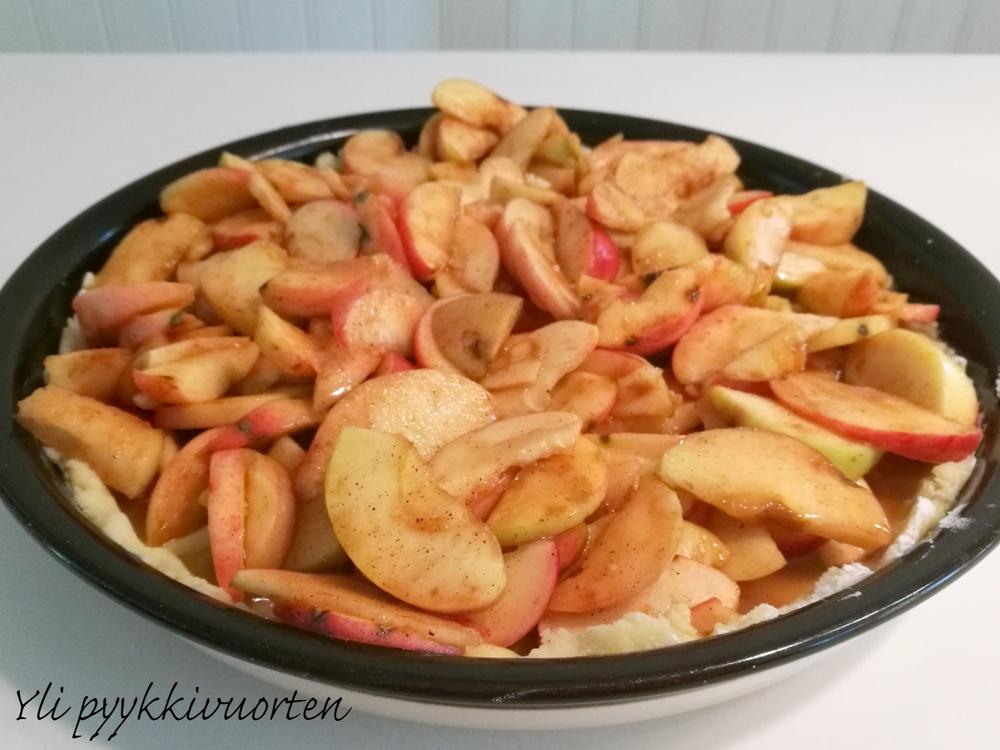 paras gluteeniton omenapiirakka