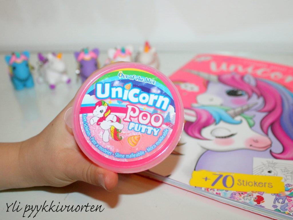 unicorn poo putty