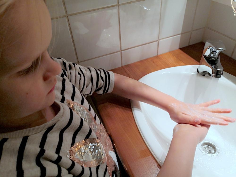 Näin peset kädet oikein