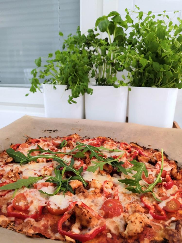 pizzapohja porkkanasta