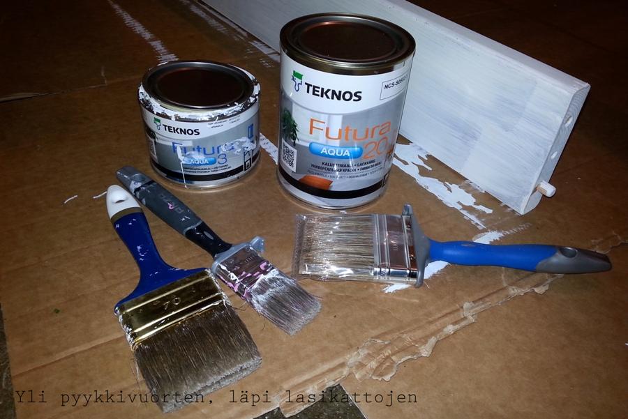 huonekalujen entisöinti, maalaus, kerrossänky, tsi, diy, maali, sisustaminen, lastenhuone