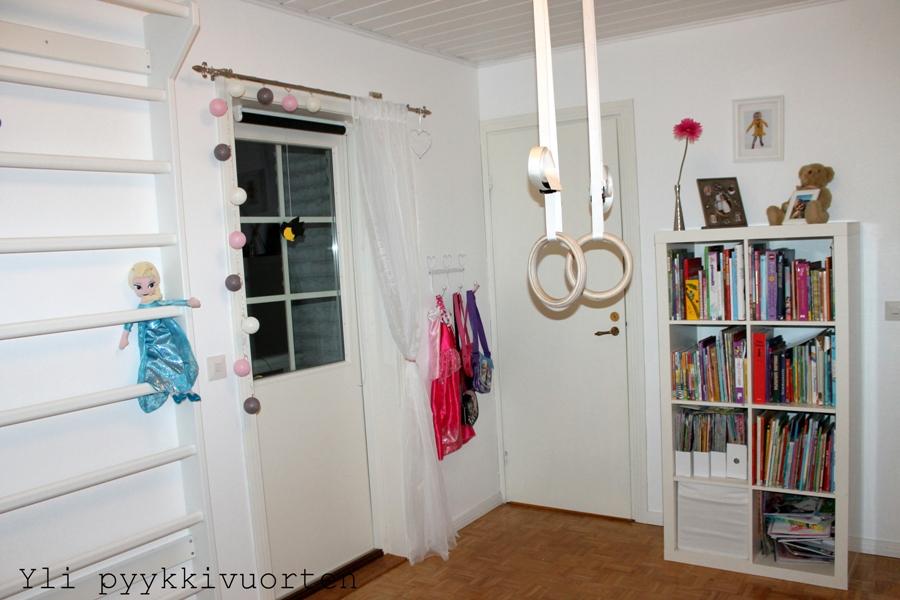 sisustaminen, sisustus, lastenhuone, koti, omakotitalo, scandinavian home, moderni, tytön huone, pojan huone, Suomen Voimistelutuote