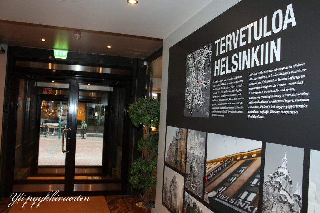 Hotelli Helsingin keskustassa