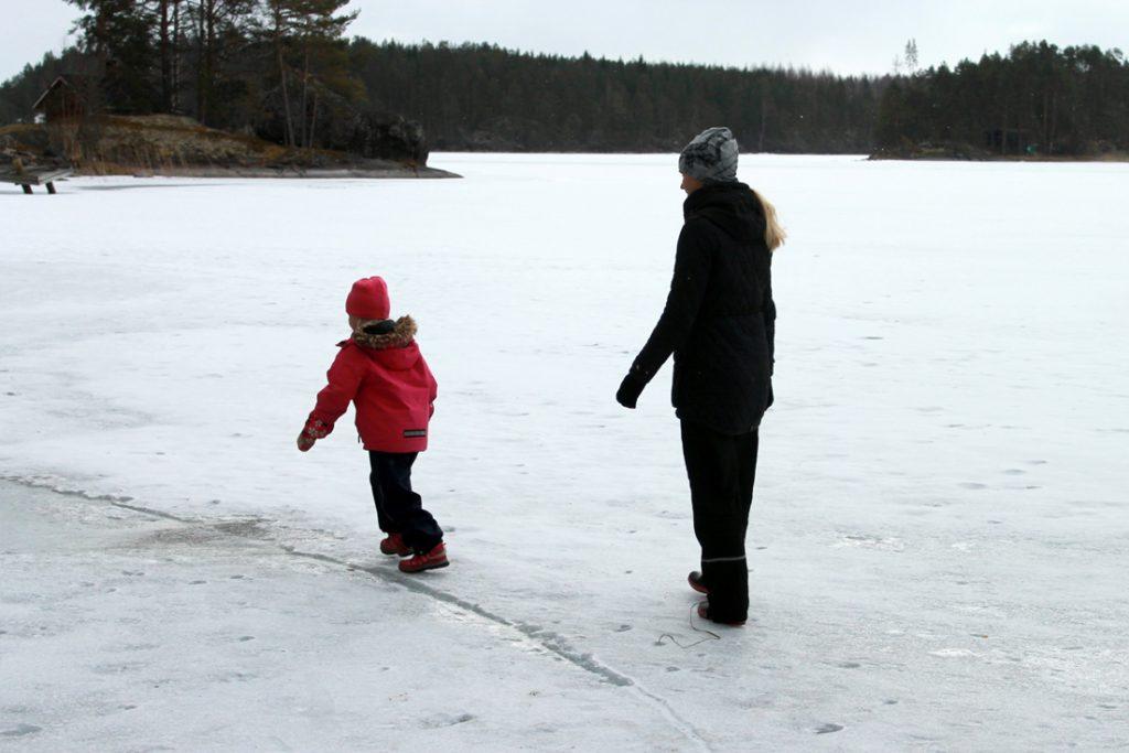 talvi, järvi