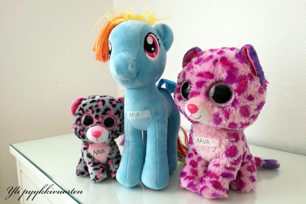 ihoteippi, pehmolelu, My little pony