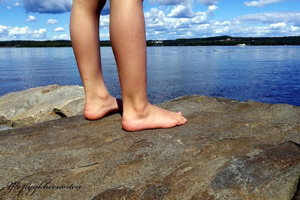 jalat, kesä