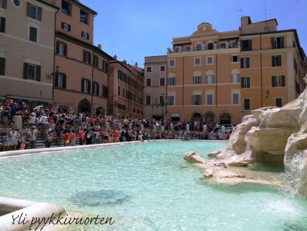 Rooma Italia gluteeniton Fontana di Trevi